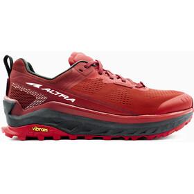 Altra Olympus 4 Buty do biegania Mężczyźni, red